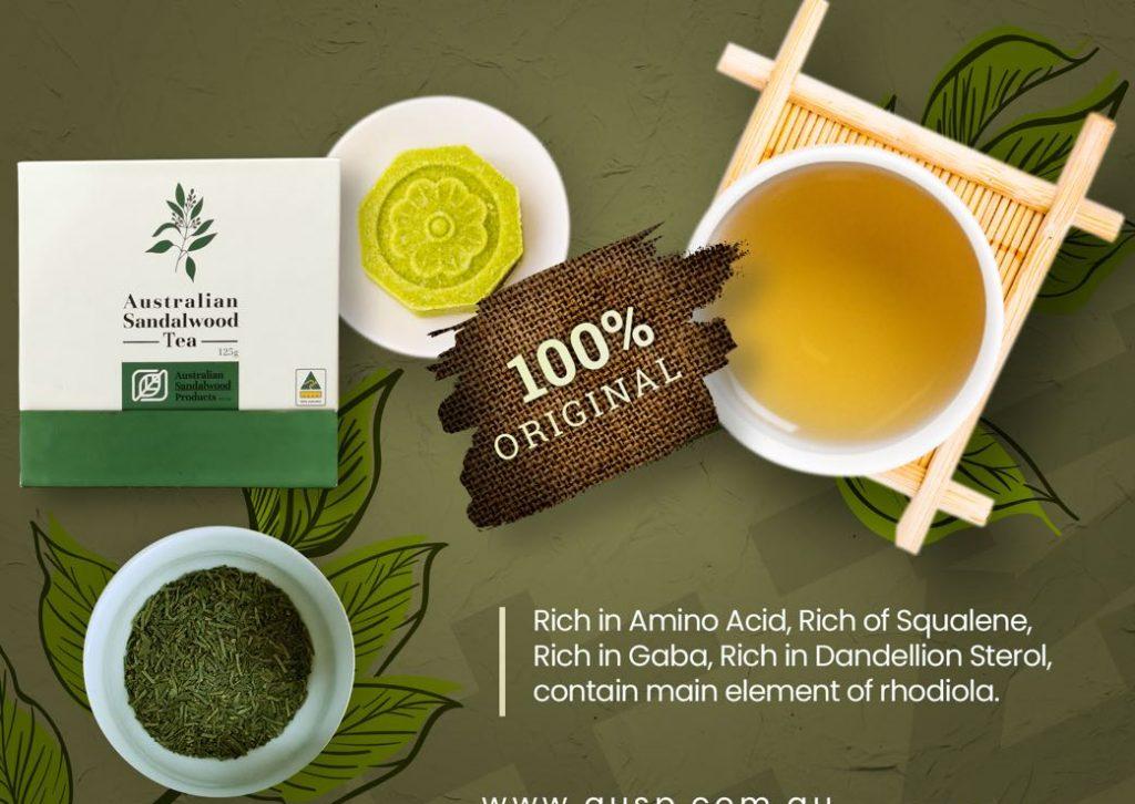 The story of Sandalwood tea