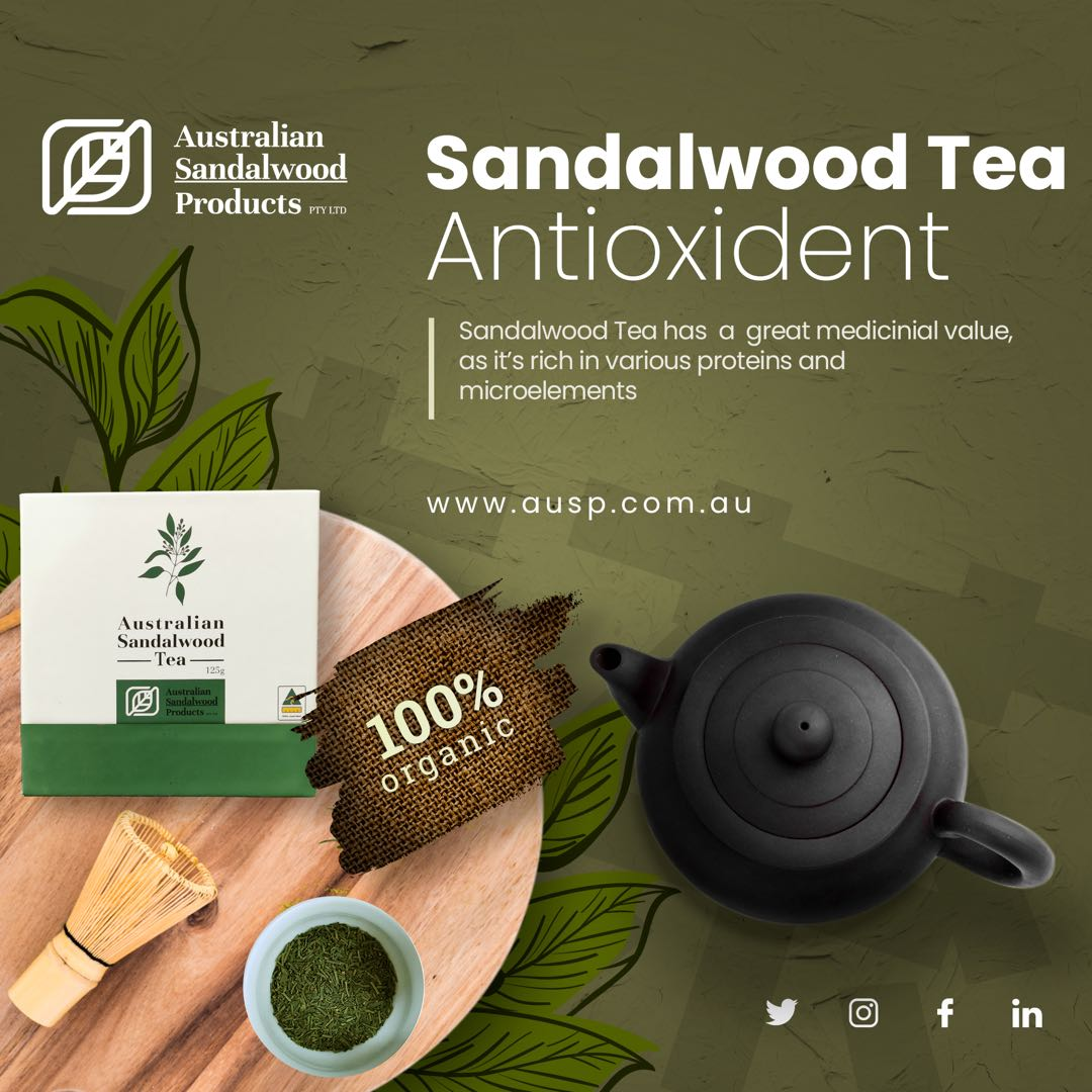 Scientific Data of Sandalwood Tea